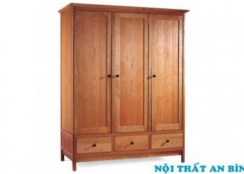 Tủ quần áo gỗ tự nhiên 07