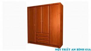 Tủ quần áo gỗ tự nhiên 08