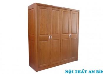 Tủ quần áo gỗ tự nhiên 09