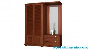 Tủ quần áo gỗ tự nhiên 11