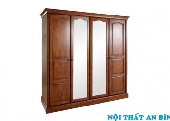 Tủ quần áo gỗ tự nhiên 12