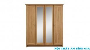 Tủ quần áo gỗ tự nhiên 18