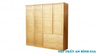 Tủ quần áo gỗ tự nhiên 27