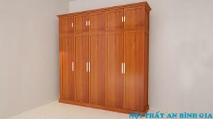 Tủ quần áo gỗ tự nhiên 33