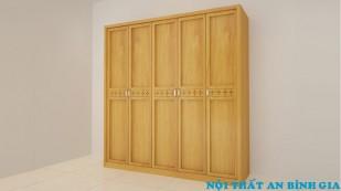 Tủ quần áo gỗ tự nhiên 35
