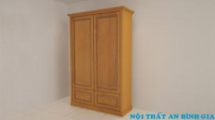 Tủ quần áo gỗ tự nhiên 38