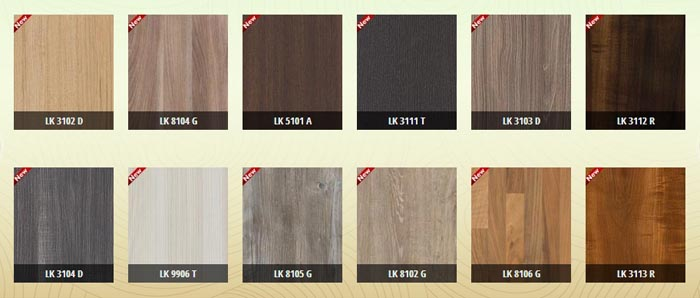 Laminate Kingdom - Bảng màu Laminate Kingdom 01