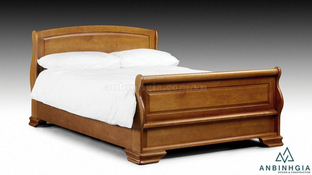 Giường ngủ gỗ tự nhiên Xoan Đào - GTN06