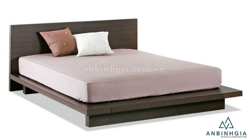 Giường ngủ Nhật Bản gỗ MDF - GKN 11