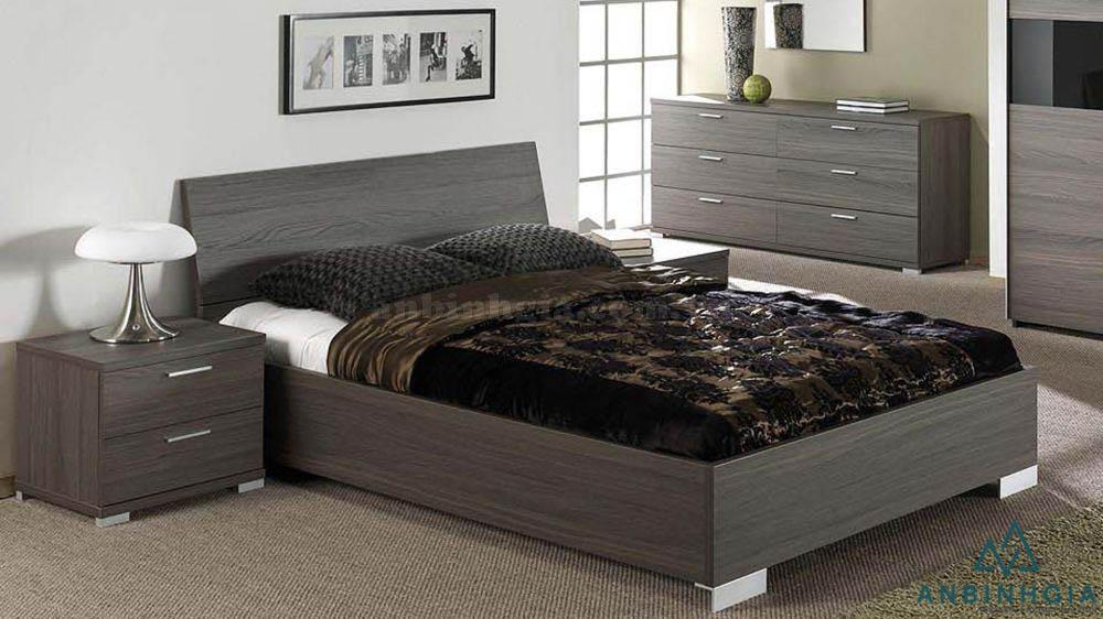 Giường ngủ ván ép MFC đẹp - GCN 12