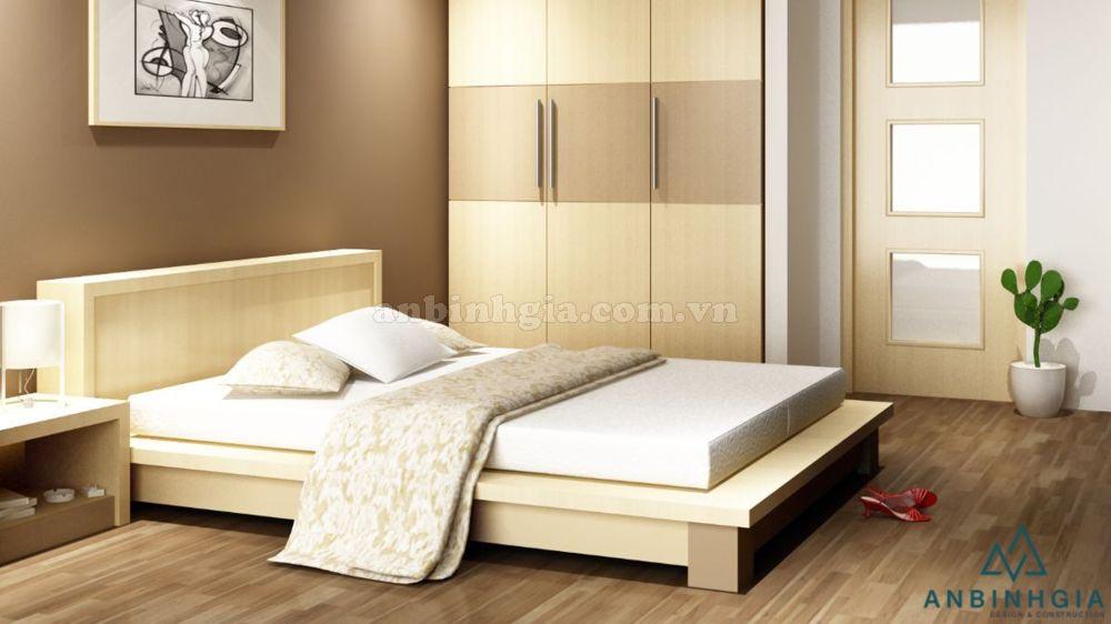 Giường thấp kiểu Nhật gỗ MDF - GKN 16