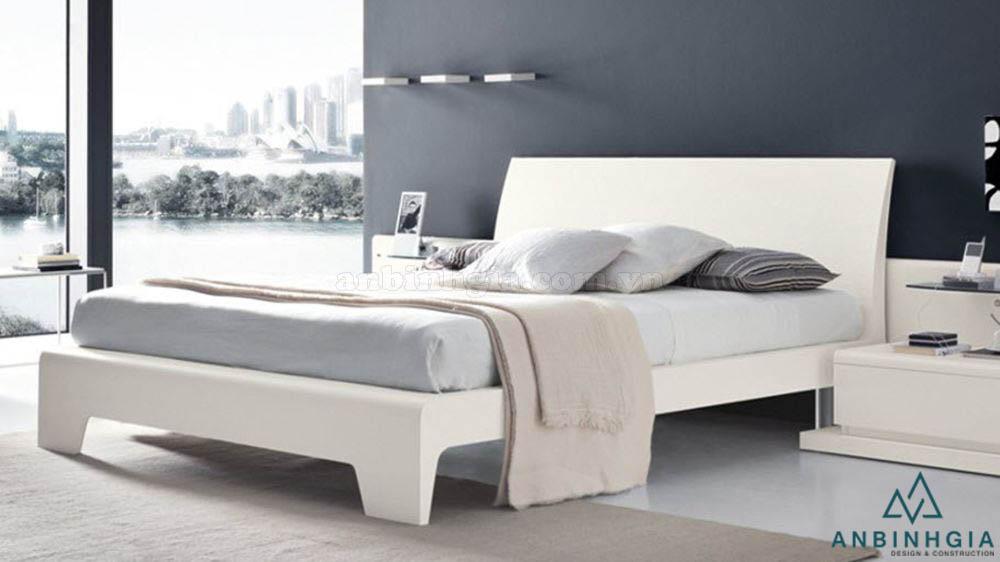 Giường ngủ hiện đại gỗ MDF - GCN 23
