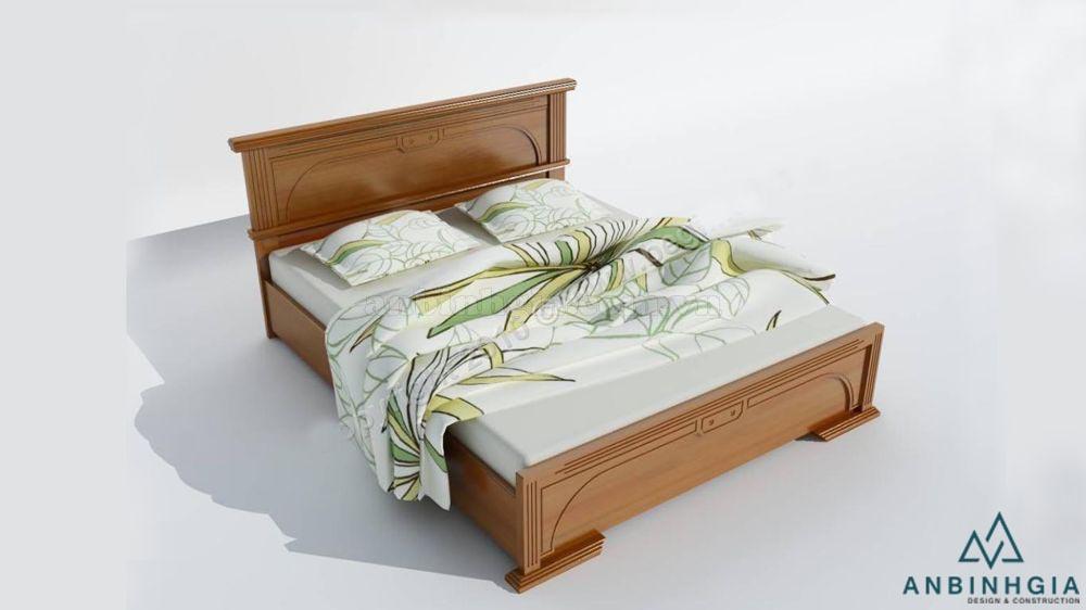 Giường ngủ bằng gỗ Xoan Đào - GTN 24