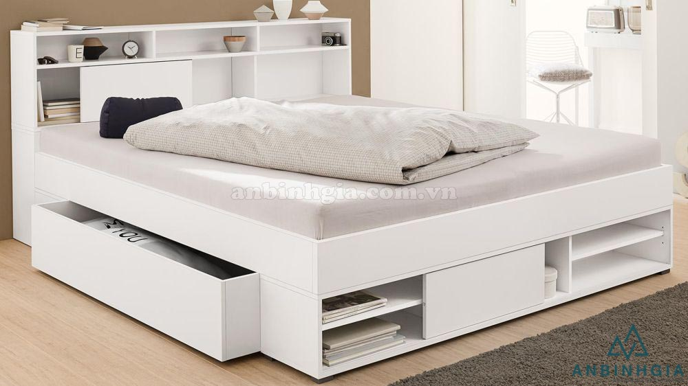 Giường ngăn kéo gỗ MDF - GNK 30