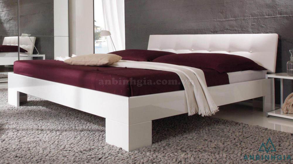 Giường ngủ gỗ công nghiệp MDF - GCN 32
