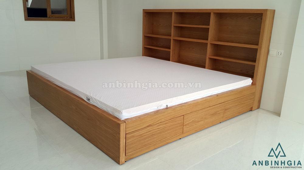 Giường hộp nhiều ngăn kéo gỗ MDF - 39