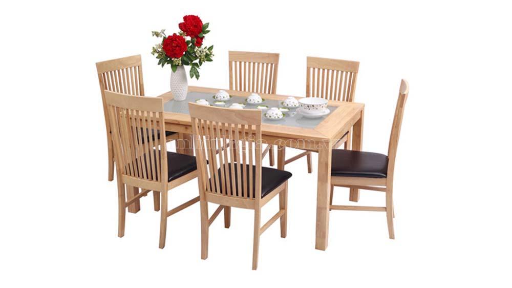 Bộ bàn ăn gỗ Sồi