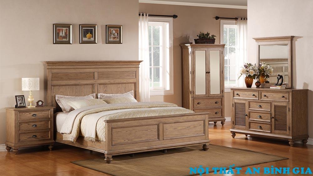 Phòng ngủ cổ điển 01