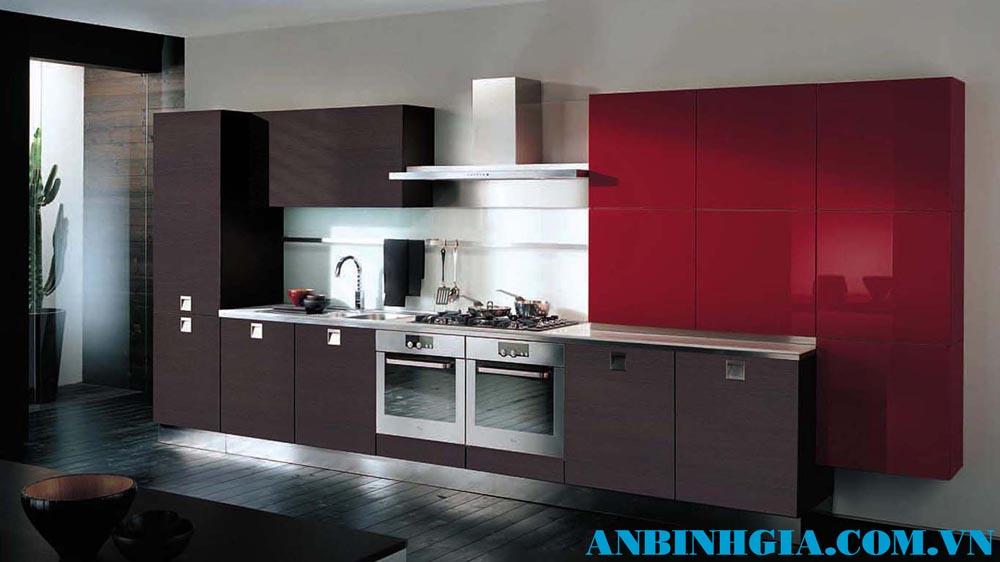 Tủ bếp đơn giản mà đẹp - MS 31
