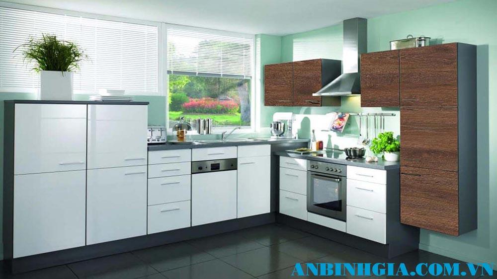 Tủ bếp gia đình đẹp - MS 32