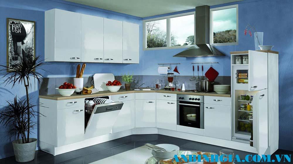 Tủ bếp gỗ cao cấp - MS 37