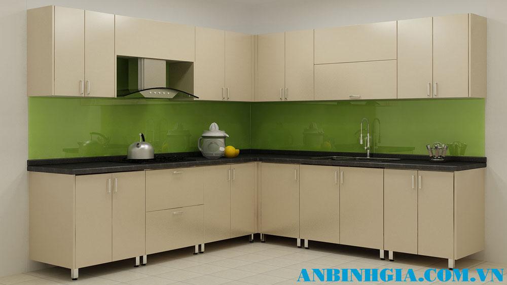 Tủ bếp gỗ gia đình - MS 51