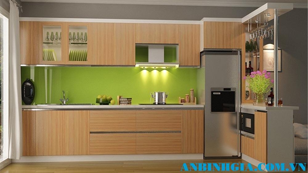 Tủ bếp gỗ hiện đại - MS 52