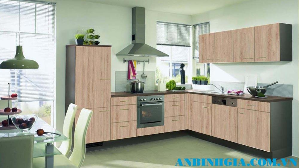 Tủ bếp gỗ Laminate - MS 53