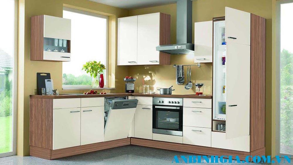 Tủ bếp gỗ sang trọng - MS 56