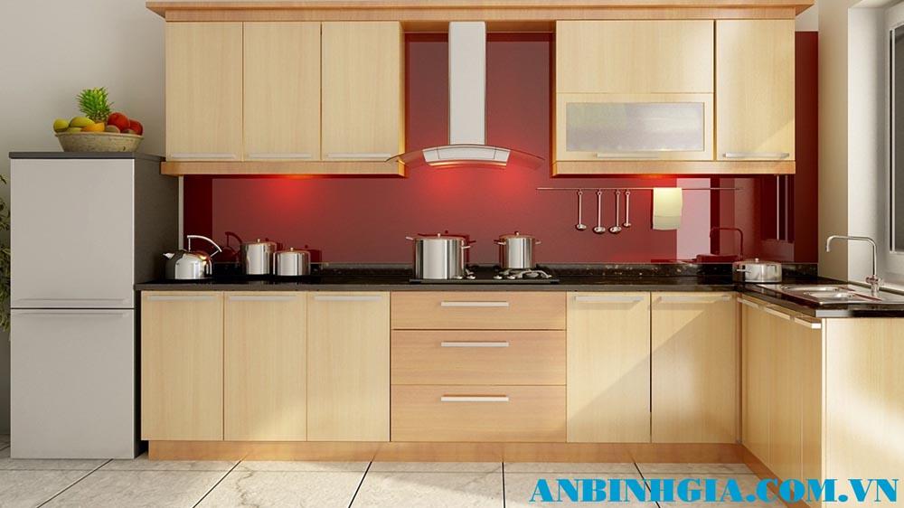 Tủ bếp hiện đại cao cấp - MS 74