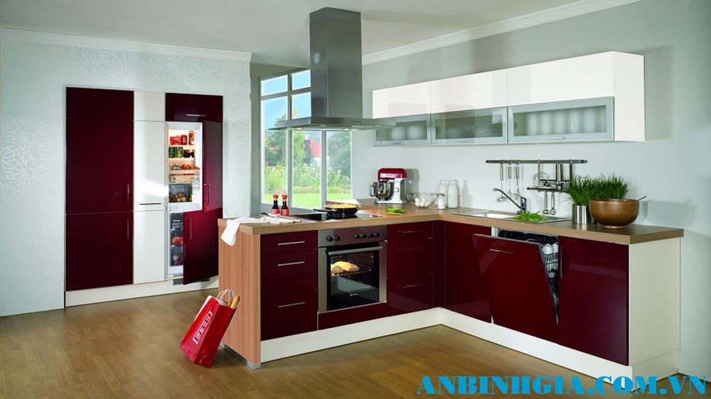 Tủ bếp nhỏ đẹp tiện dụng - MS 79