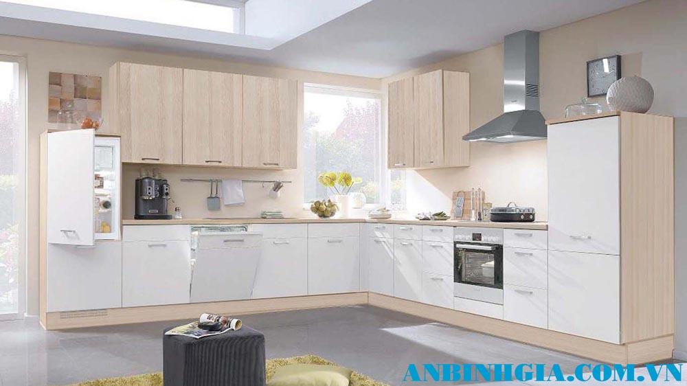 Tủ bếp phong cách hiện đại - MS 81