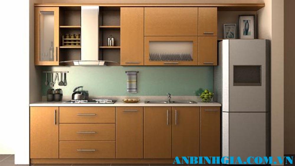 Tủ bếp xinh cho nhà nhỏ - MS 87