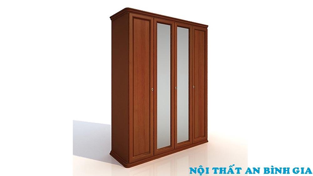 Tủ quần áo gỗ tự nhiên 02