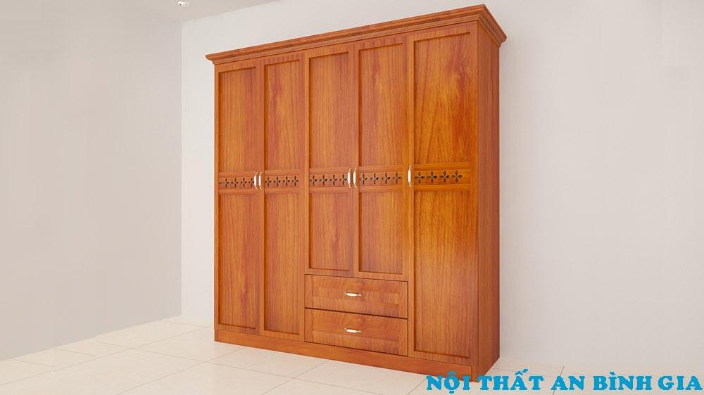 Tủ quần áo gỗ tự nhiên 31