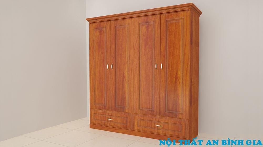 Tủ quần áo gỗ tự nhiên 32
