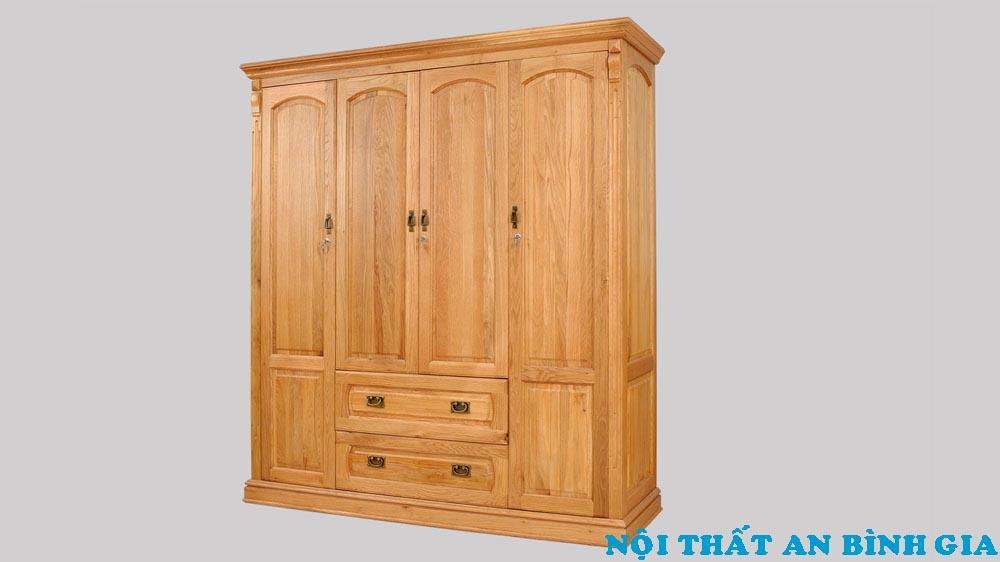 Tủ quần áo gỗ tự nhiên 34
